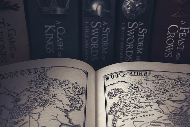 game of thrones, book, books