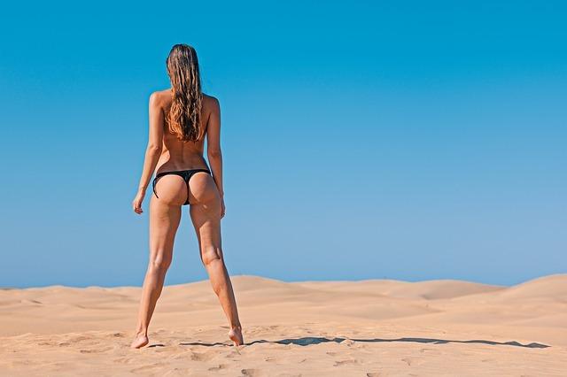 woman, exposure to the sun, bikini