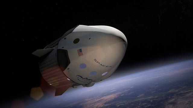 spacex, spaceship, satellite