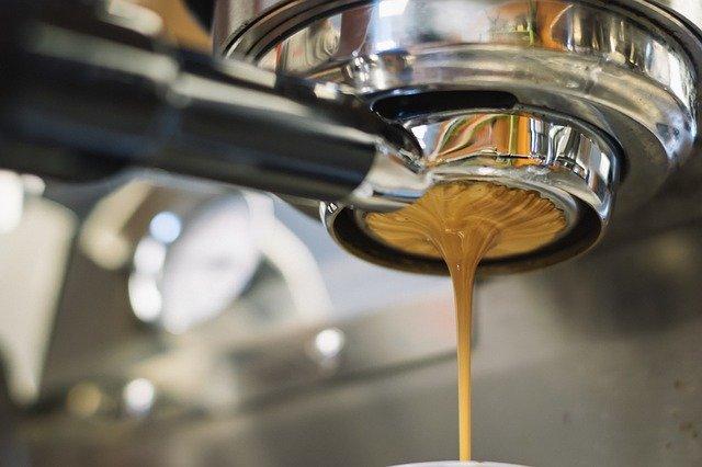 coffee, machine, portafilter