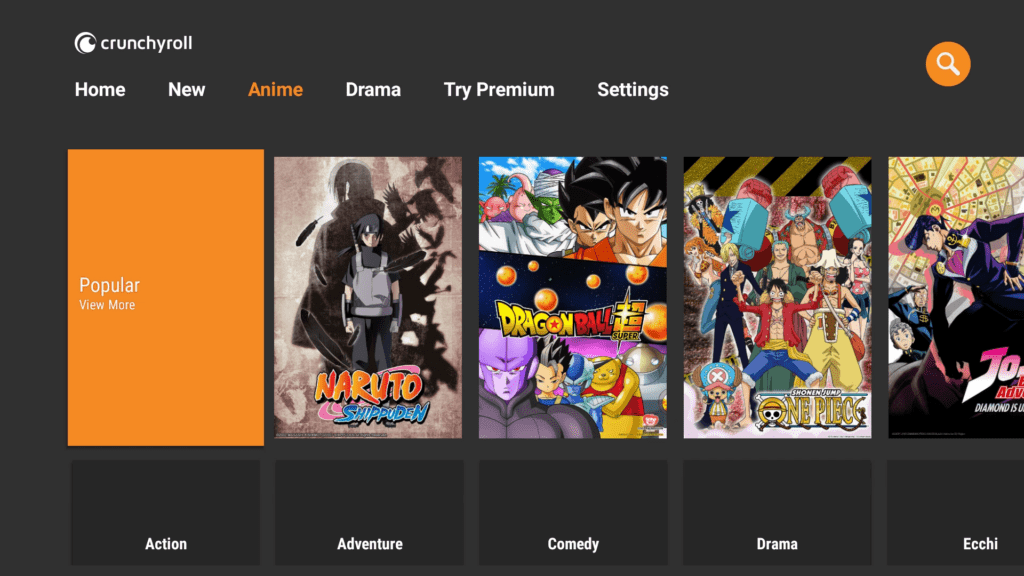 Crunchyroll on Firestcik for Anime