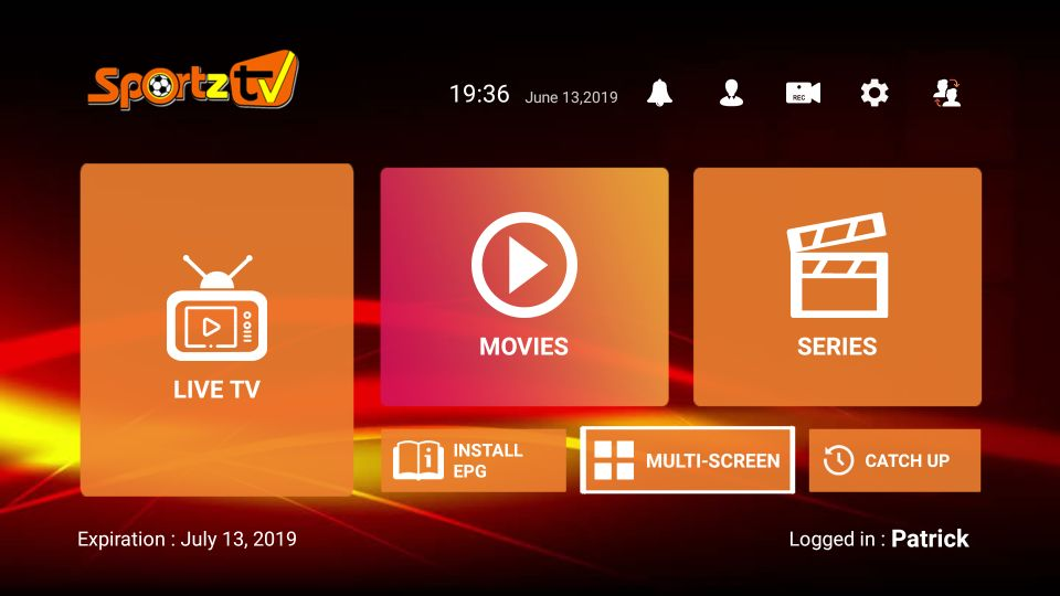 Sport TV fo Sport, Movies, TV, Live Shows.