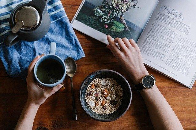 breakfast, healthy, food