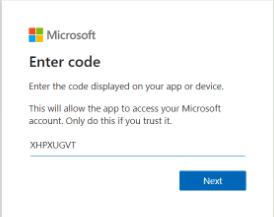 Microsoft-code-aka.ms/Remoteconnect
