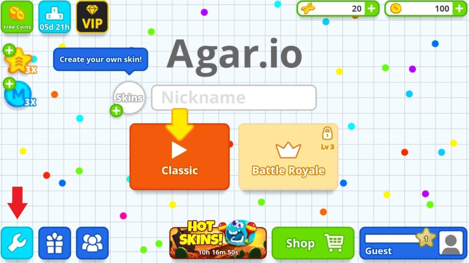 Agario Names